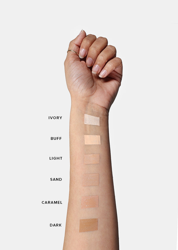 Amuse Foundation and Concealer