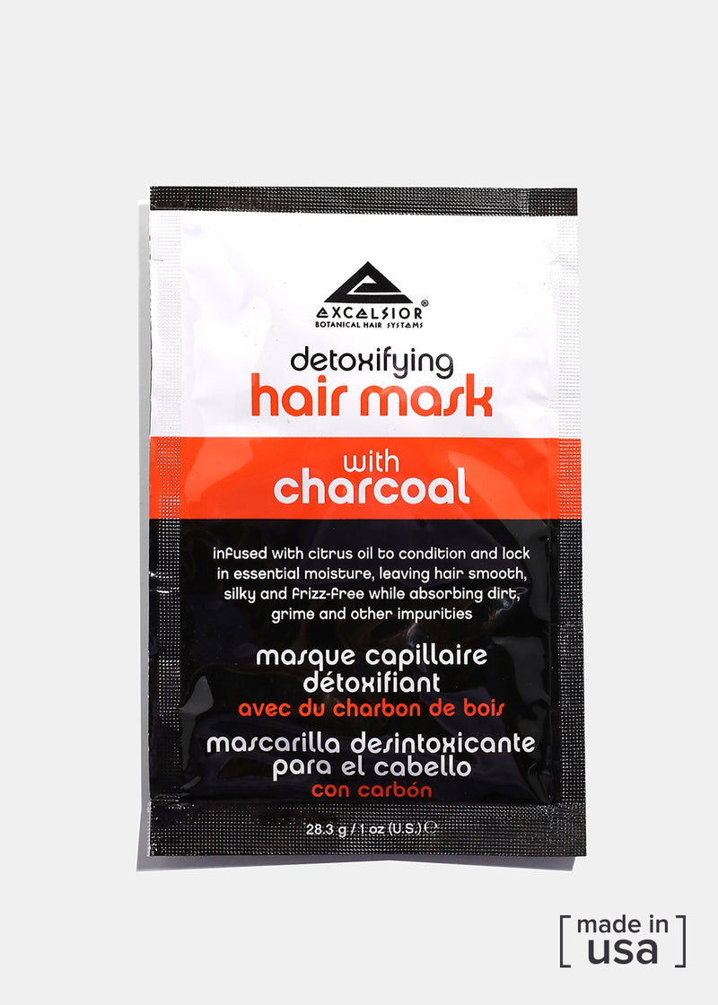 Charcoal Detoxifying Hair Mask