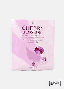 Cherry Blossom Foot Mask