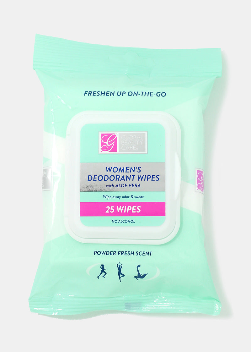 Deodorant Wipes with Aloe Vera