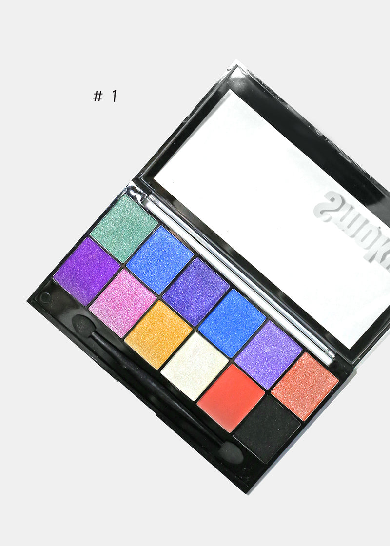 12 Color Eyeshadow & Palette
