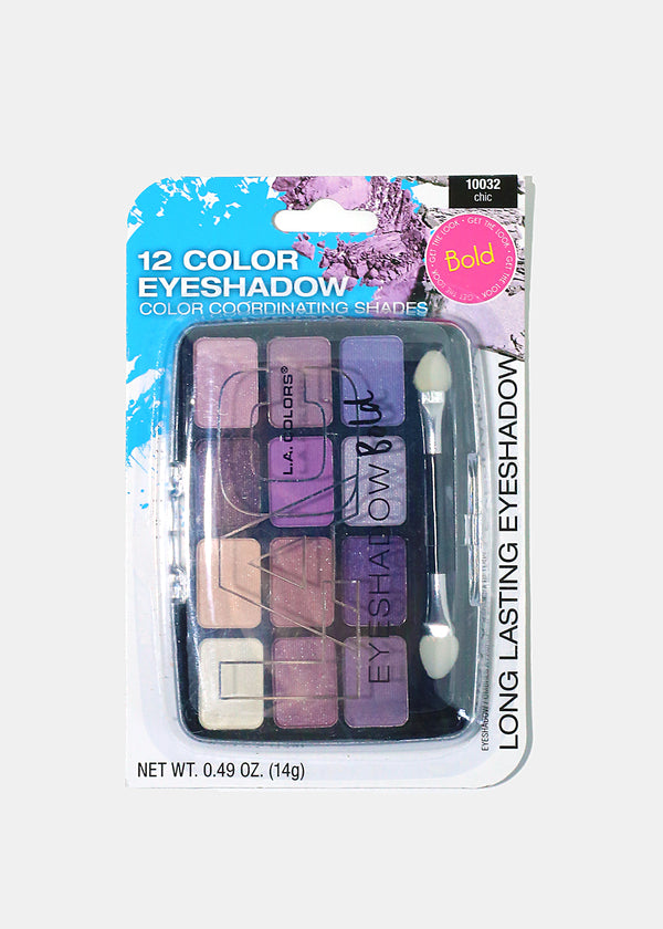 L.A. Colors - 12 Color Eyeshadow Chic