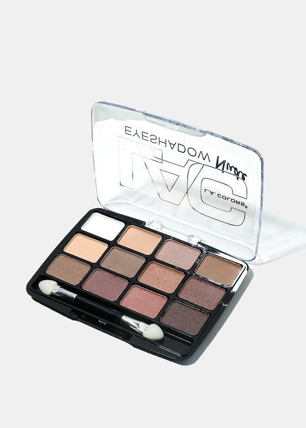 L.A. Colors - 12 Color Eyeshadow Traditional