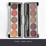 Santee Professional 5 Eyeshadow Set