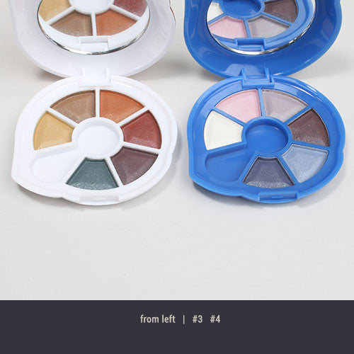 BR Satin 6 Color Eyeshadow Set