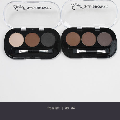 Starry 3 Color Brow Kit