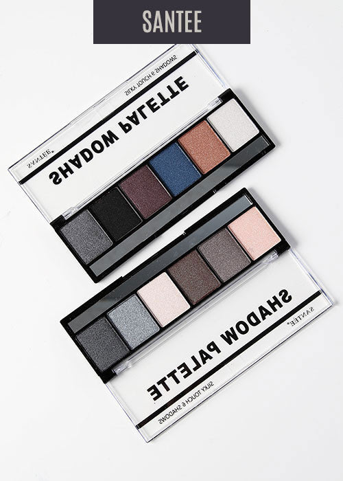 Silky Touch 6 Eyeshadow Palette 2