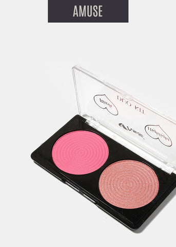 Amuse Duo Blush and Highlighter
