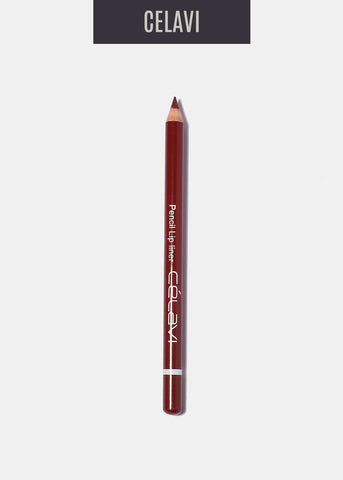 Celavi Pencil Lipliner- Burnt Sienna