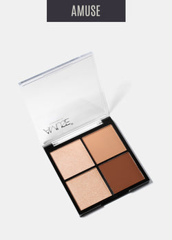 Amuse Basic Nudes Shadow Set