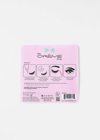 Creme Shop Eyelash Glue - Clear