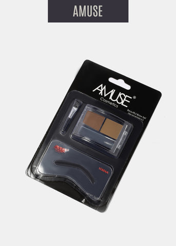 Amuse Duo Eyebrow Shadow- Medium