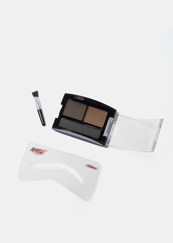 Amuse Duo Eyebrow Shadow- Dark