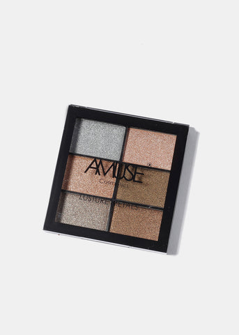 Amuse Lusture Metals Eyeshadow Palette
