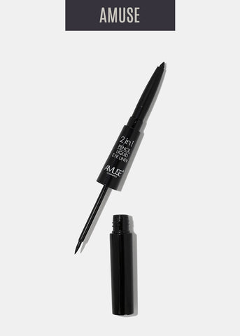 Liquid and Pencil Eyeliner in 1