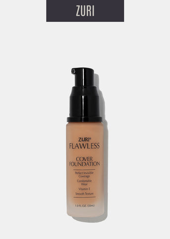 Zuri Liquid Cover Foundation- Tawny Tan