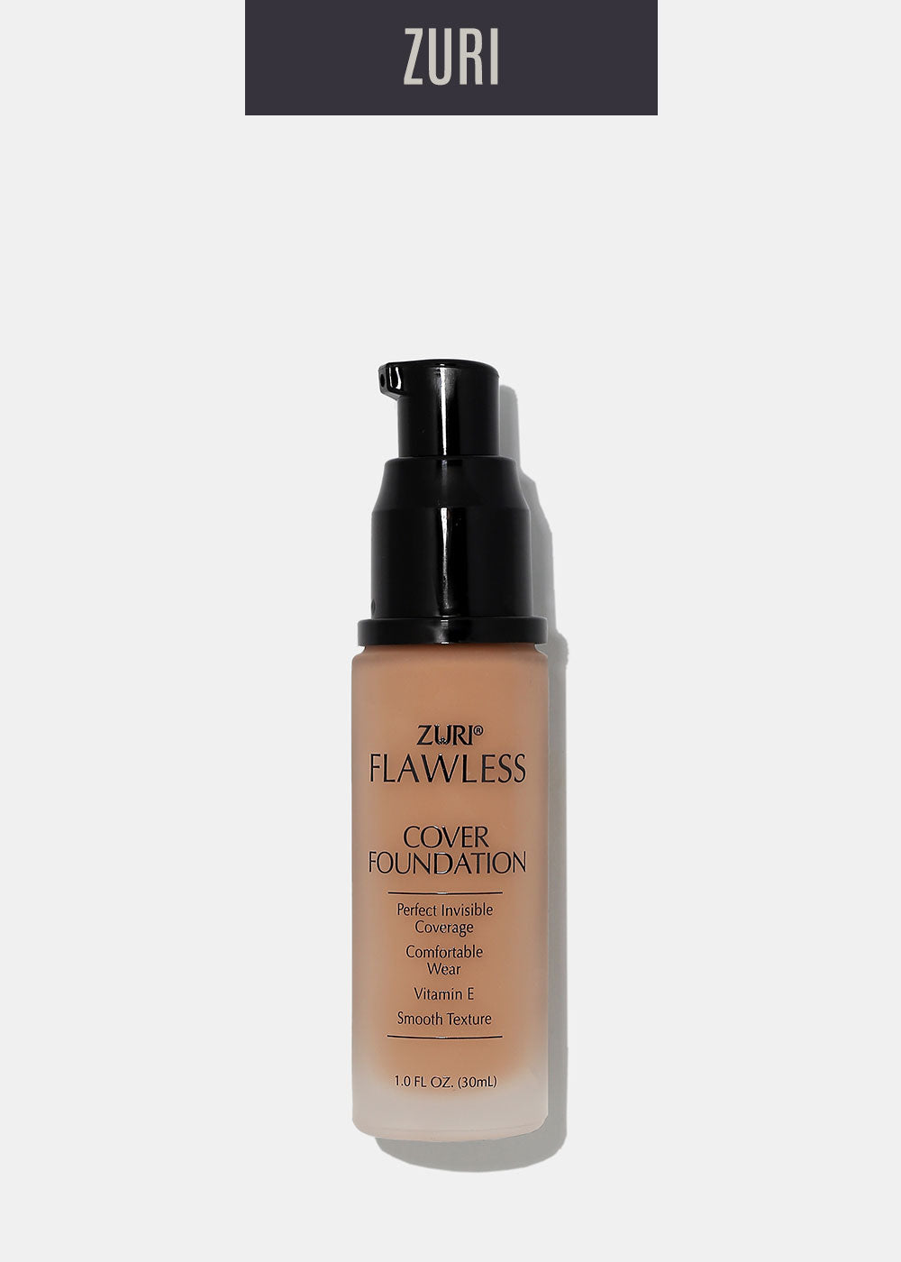 Zuri Liquid Cover Foundation- Honey Brown