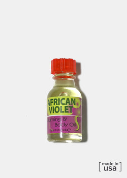 Difeel Burning & Body Oil- African Violet