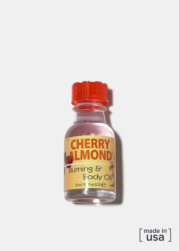 Difeel Burning & Body Oil- Cherry Almond
