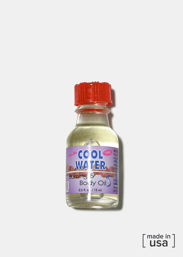 Difeel Burning & Body Oil- Cool Water