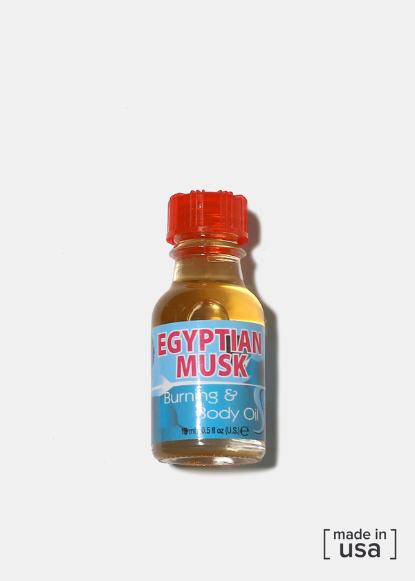 Difeel Burning & Body Oil- Egyptian Musk