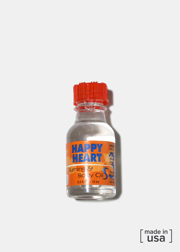 Difeel Burning & Body Oil- Happy Heart