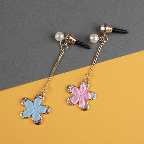 Flower Dangle Dust Plug