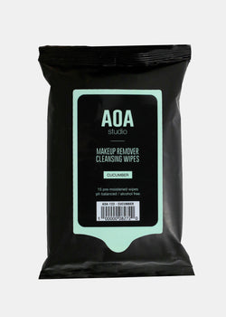 AOA Makeup Remover Wipes - Cucumber