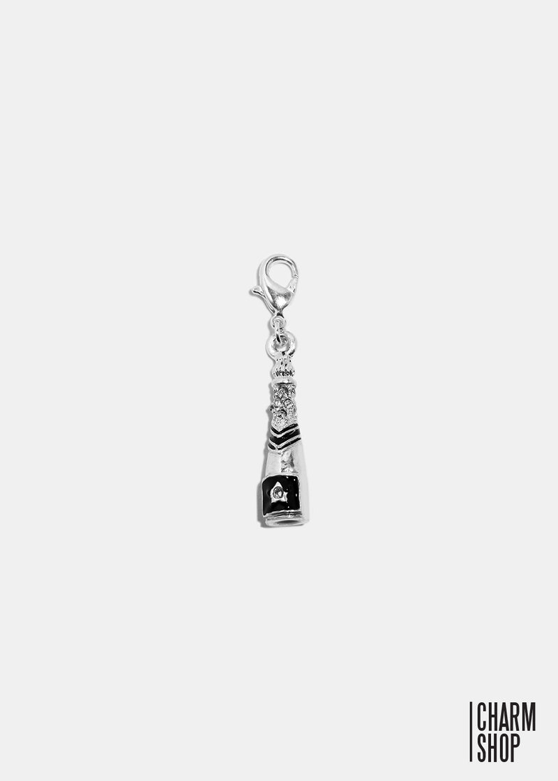 Champagne Bottle Dangle Charm