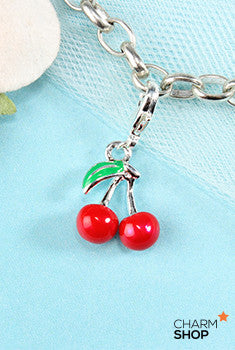 Cherry Dangle Charm