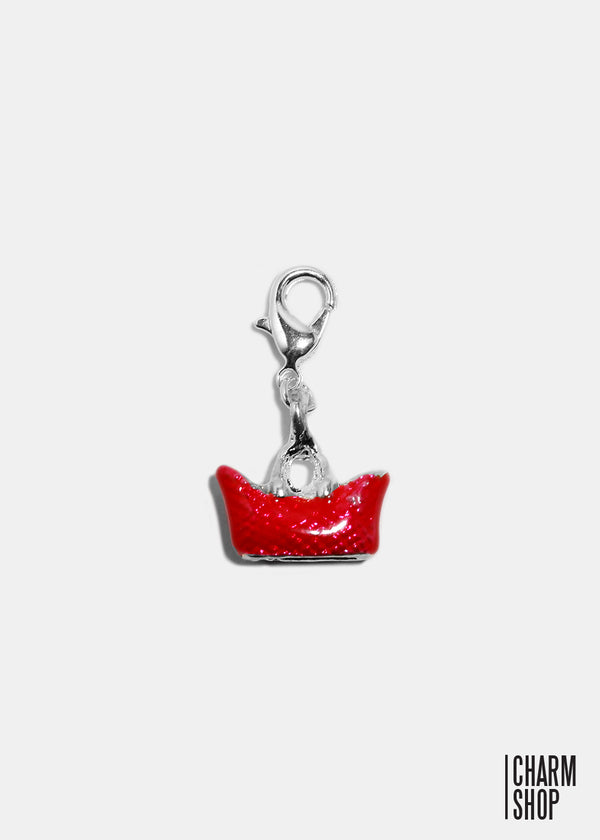 Red Purse Dangle Charm