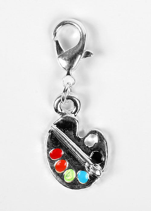 Paint Palette Dangle Charm