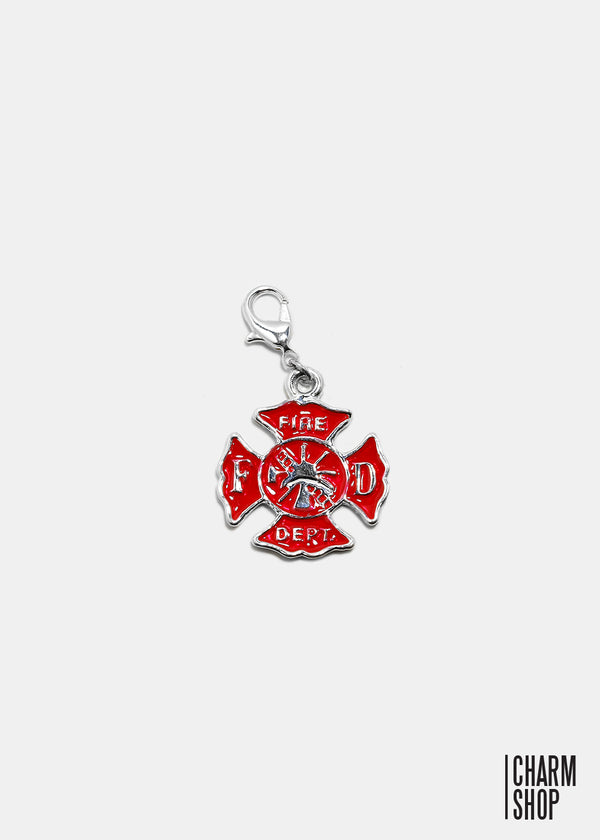 Fire Department Dangle Charm