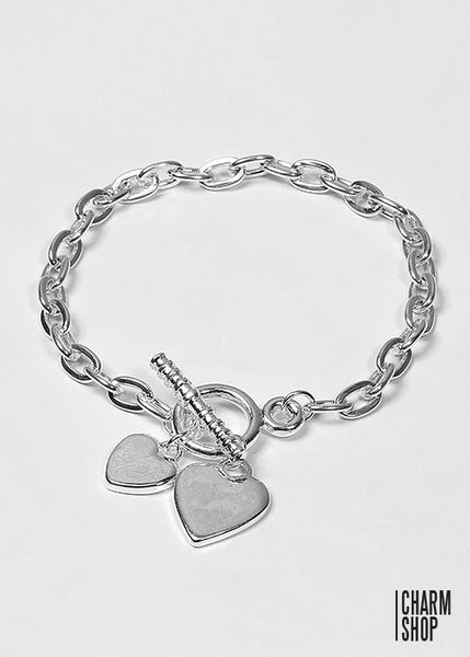 Classic Heart Dangle Foundation Bracelet (22cm)