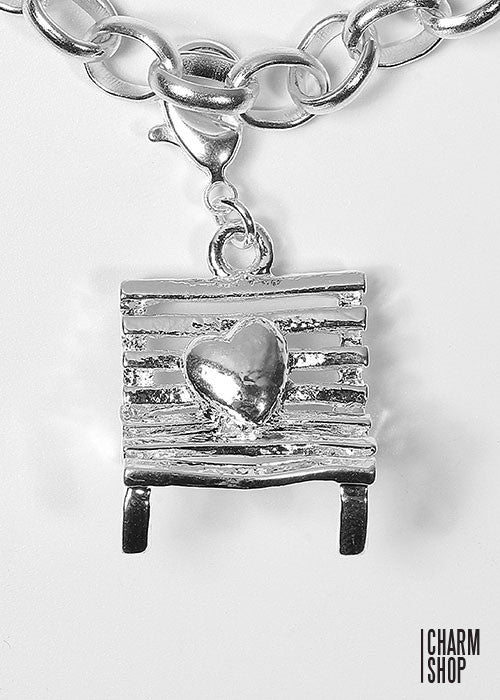 Park Bench Dangle Charm