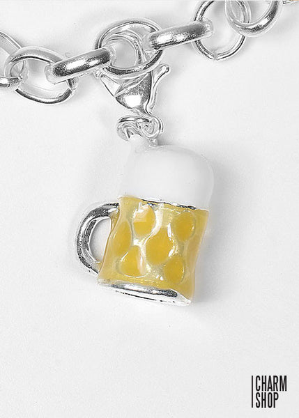 Beer Mug Dangle Charm
