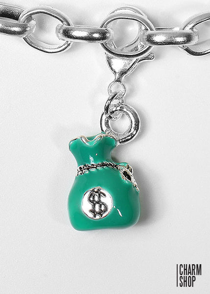 Money Bag Dangle Charm