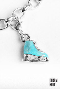 Ice Skating Shoe Dangle Charm