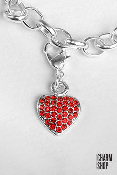 Glam Heart Dangle Charm