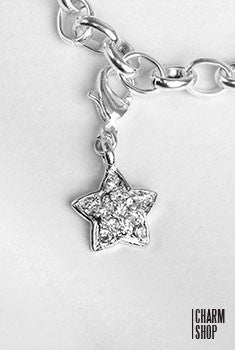 Sparkly Star Dangle Charm