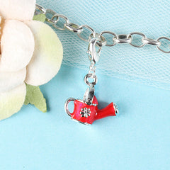 Red Watering Pot Dangle Charm