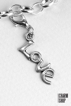 Love Pendant Dangle Charm