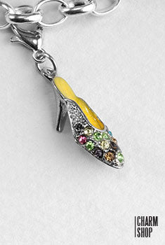 High Heel Slipper Dangle Charm