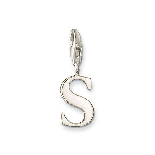Letter S Dangle Charrm