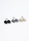 12 Pair Multi Pearl Stud Set