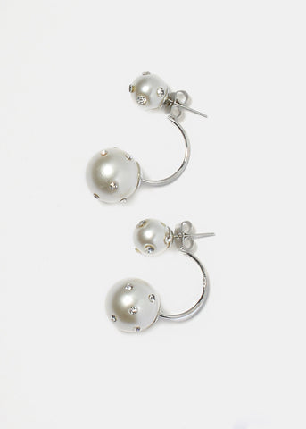 Double Pearl Ear Jackets