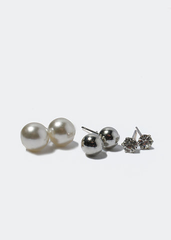 15 Pair Ball Stud Variety Set