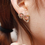Heart Combo Earring Set