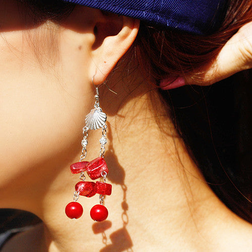 Sea Shell Dangle Earring