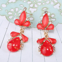 Pear Drop Glamour Earrings
